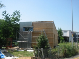 Vorbereitung Fassade